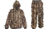 3-D Leafty camo hunting suit